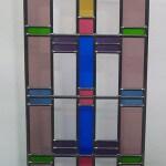 Veelkleurige raamhanger afm 653x315mm