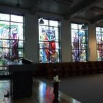 Kerk glas in lood 1