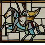 Ridder glas in lood raamdecoratie