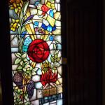 een historisch ontwerp van Leenders Glas in Lood