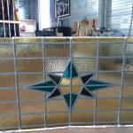 glas in lood met ster