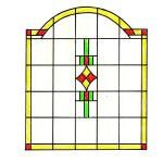 glas in lood ontwerp 39