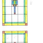 glas in lood ontwerp 51