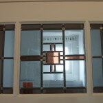 glas in lood venster