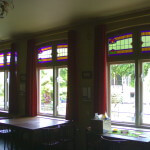 glas in lood raamkozijnen