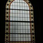 Glas in lood kerk binnen