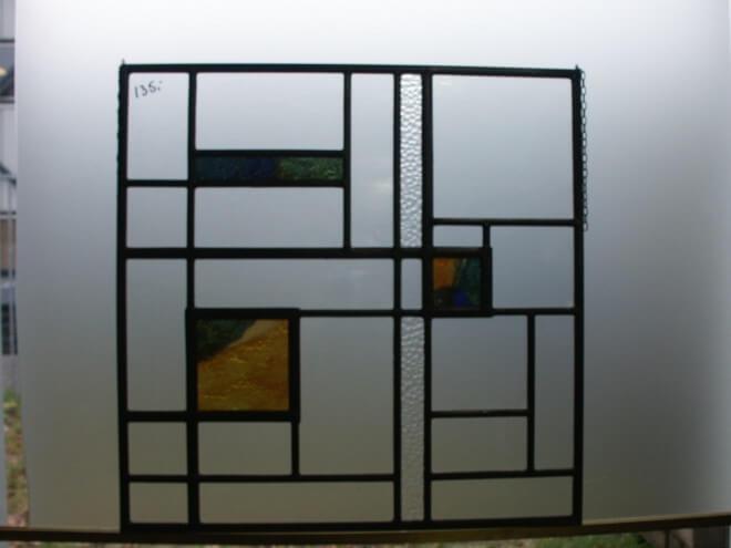 Ongekend Raamhangers van glas - Leenders glas in lood QO-73