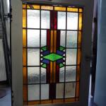 Restauratie van glas in lood en kozijn