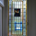 glas in lood met brandschildering