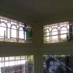 glas in lood met voorzetglas