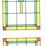 glas in lood ontwerp 50