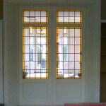 glas in lood ontwerp 8 in uitvoering