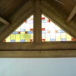 glas in lood ontwerp st.annastraat uitgevoerd