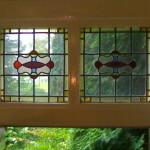 glas in lood ramen details