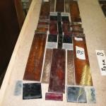 vier nieuwe glas in lood ramen monteren