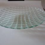 wit glas fusing schaal