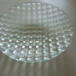 wit glas fusing schaal boven